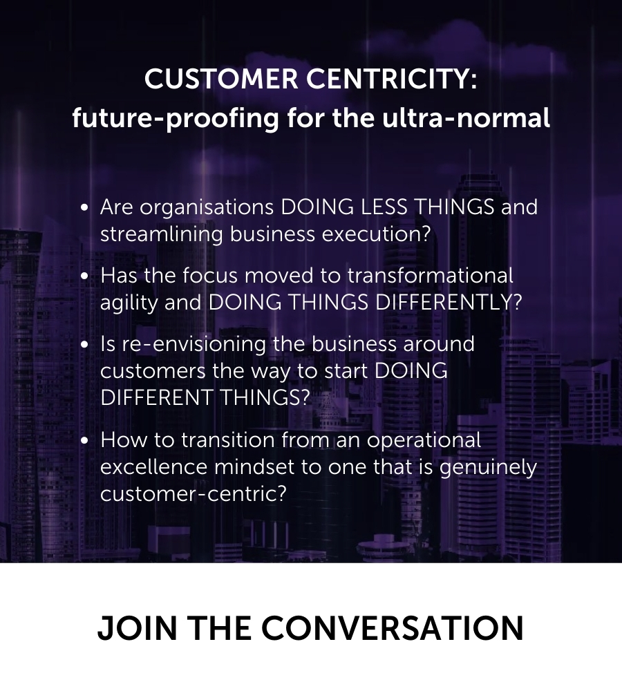 CIONEXT | Customer-centricity to future-proof for the ultra-normal