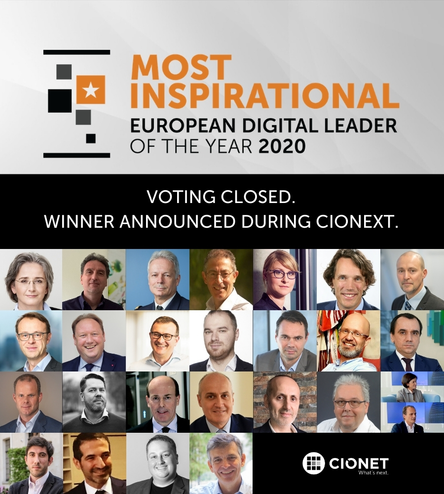 Most Inspirational European Digital Leader of the Year 2020